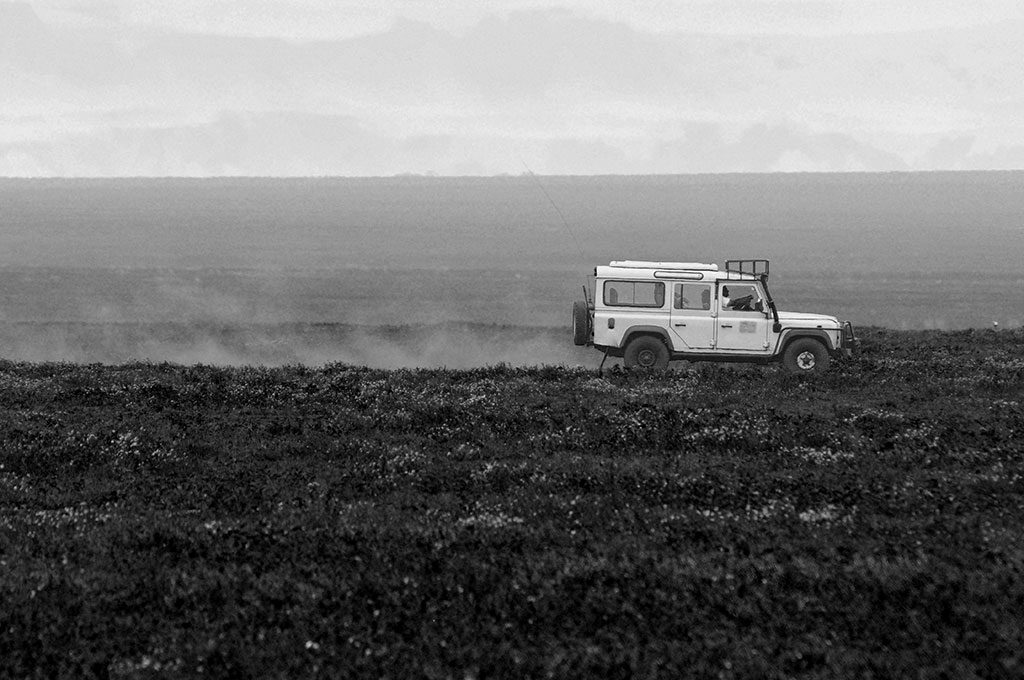 The landrover serves tanzania well